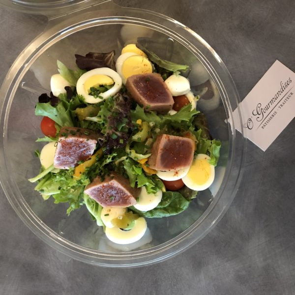 salade plateau repas